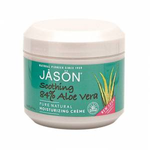 Jason Natural Cosmetics Soothing 84% Aloe Vera Moisturising Creme, 113 g