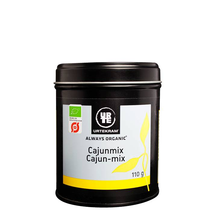 Urtekram Cajunmix Eko, 110 g