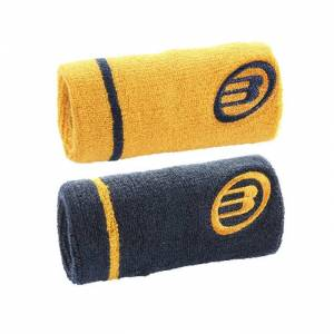 Bullpadel Wristband Orange/Mörkblå 2-pack