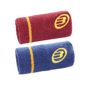 Bullpadel Wristband Vinröd/Blå 2-pack
