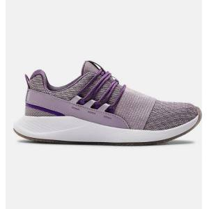 Under Armour Women's UA Charged Breathe Intl Women's Day Sportstyle Shoes Purple 9
