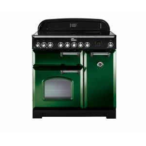 Falcon Classic Deluxe 90cm Induktion Green (Krom)
