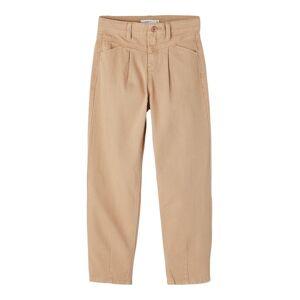 NAME IT Regular Fit Mom-jeans Kvinna Rosa 128
