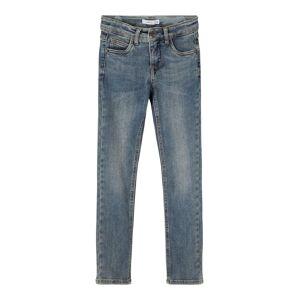 NAME IT X-slim Fit Jeans Man Blå 128