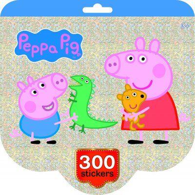 Peppa Pig Greta Gris klistermärkebok