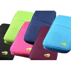 Eurobatt Reseväska/ passväska i fina färger! (Grön)