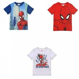 Spider-Man Spiderman T-shirt Barn (RÖD, 3A - 98 CM)