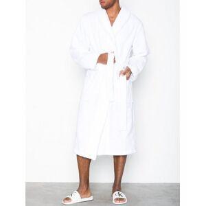 Calvin Robe Morgonrockar White