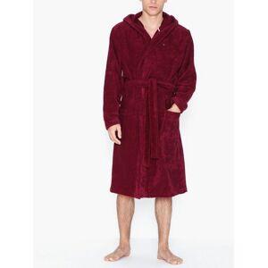 Tommy Hilfiger Towelling Robe Morgonrockar Red