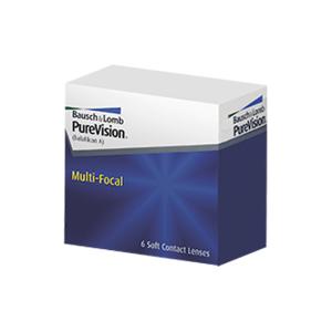 PureVision Multifocal (6 linser): -1.00, High: +1.75D till +2.50D