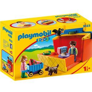 Playmobil 1.2.3\, Bärbart Marknadsstånd
