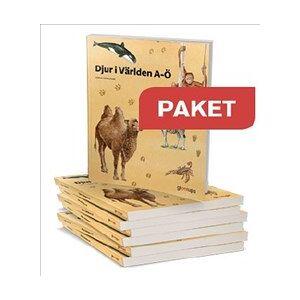 Djur i världen Paketerbj 10 ex