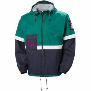 Helly Hansen Yu20 Rain Jacket S Green