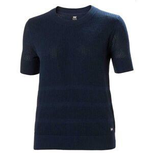 Helly Hansen Women's Thalia Cotton Jersey Knit T-shirt   Hh Se XL Navy