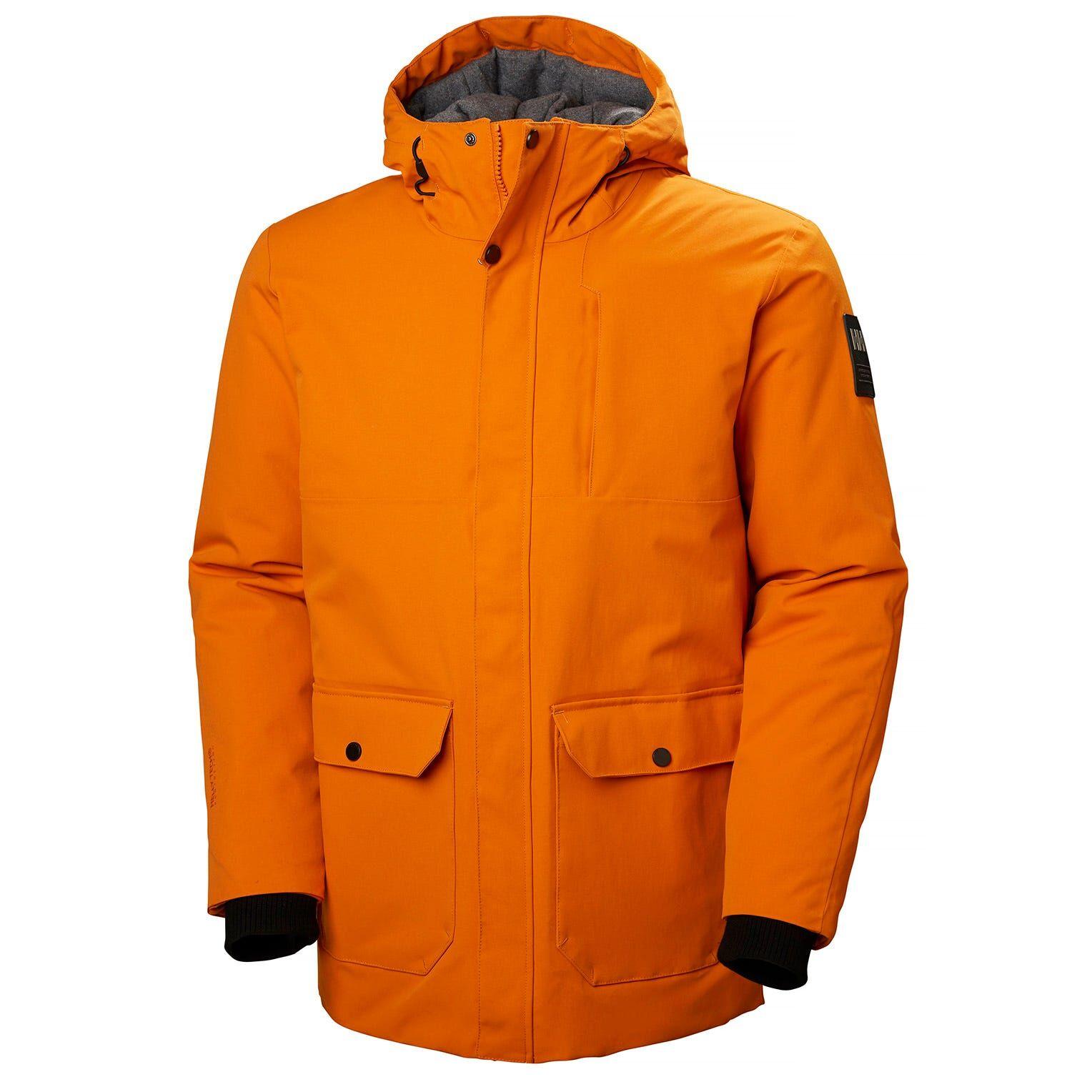 Helly Hansen Urban Long Jacket M Orange