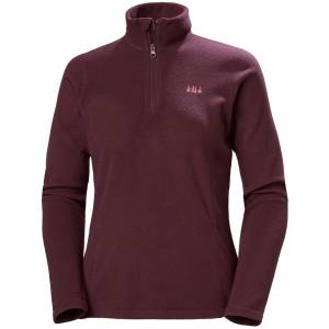 Helly Hansen W Daybreaker 1/2 Zip Fleece S Purple