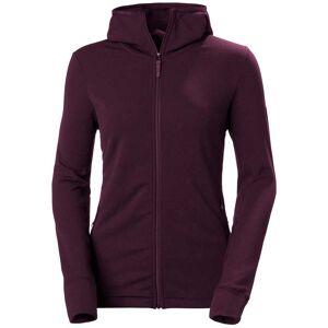 Helly Hansen W Power Stretch Pro Glacier Hooded Jacket S Purple
