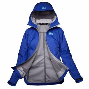 Helly Hansen W Vima 3l Shell Jacket XL Blue