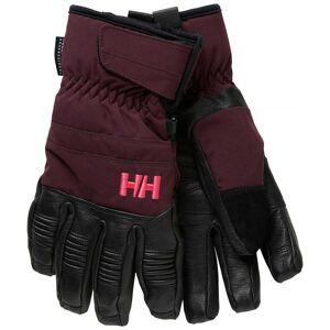Helly Hansen W Leather Mix Glove L Purple