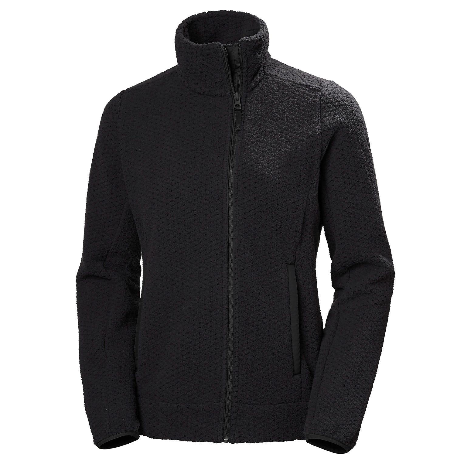 Helly Hansen Women's Lyra Brushed Fleece Jacket   XL Grey