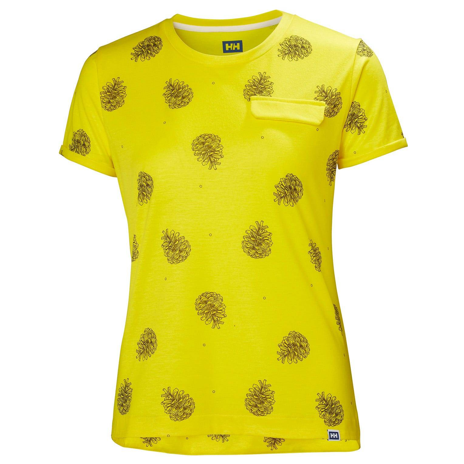 Helly Hansen W Lomma Tshirt XS Yellow