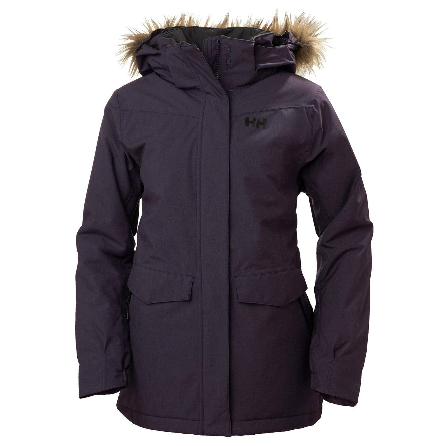 Helly Hansen W Snowbird Jacket L Purple