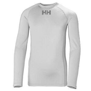 Helly Hansen Jr Waterwear Rashguard 128/8 Grey