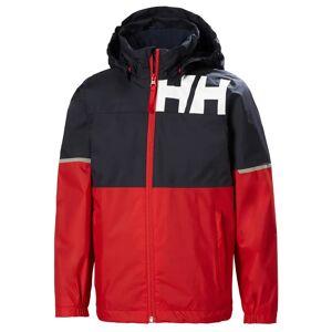 Helly Hansen Jr Pursuit Jacket 128/8 Red