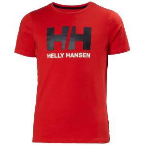 Helly Hansen Jr Hh Logo Tshirt 140/10 Red