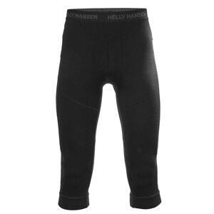 Helly Hansen W Hh Lifa Merino 3/4 Bt Pant XS Black