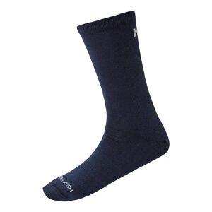 Helly Hansen Hh Merino Light Liner Sock 45-47 Navy