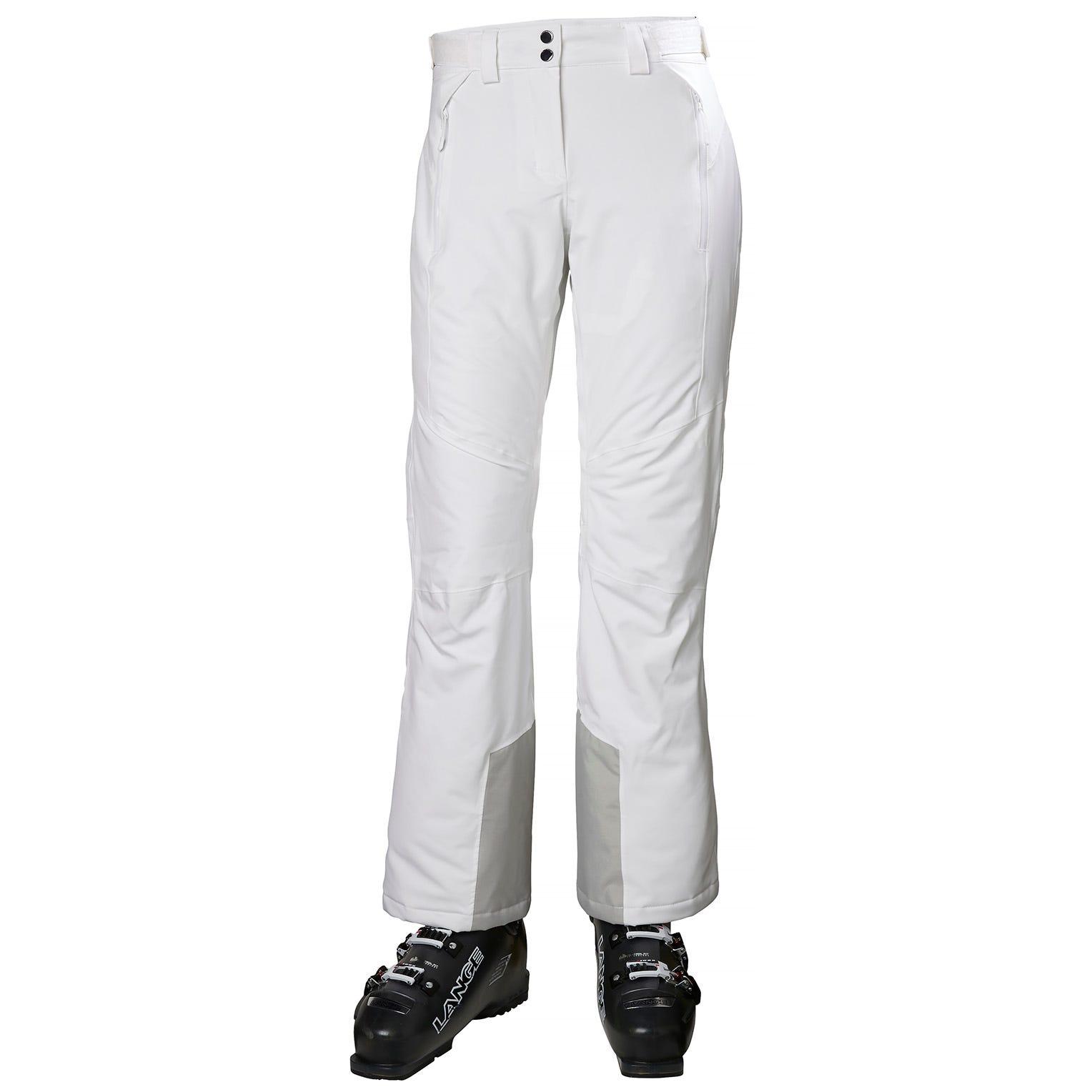 Helly Hansen Women's Alphelia Fully Insulated Ski Pants   XL White