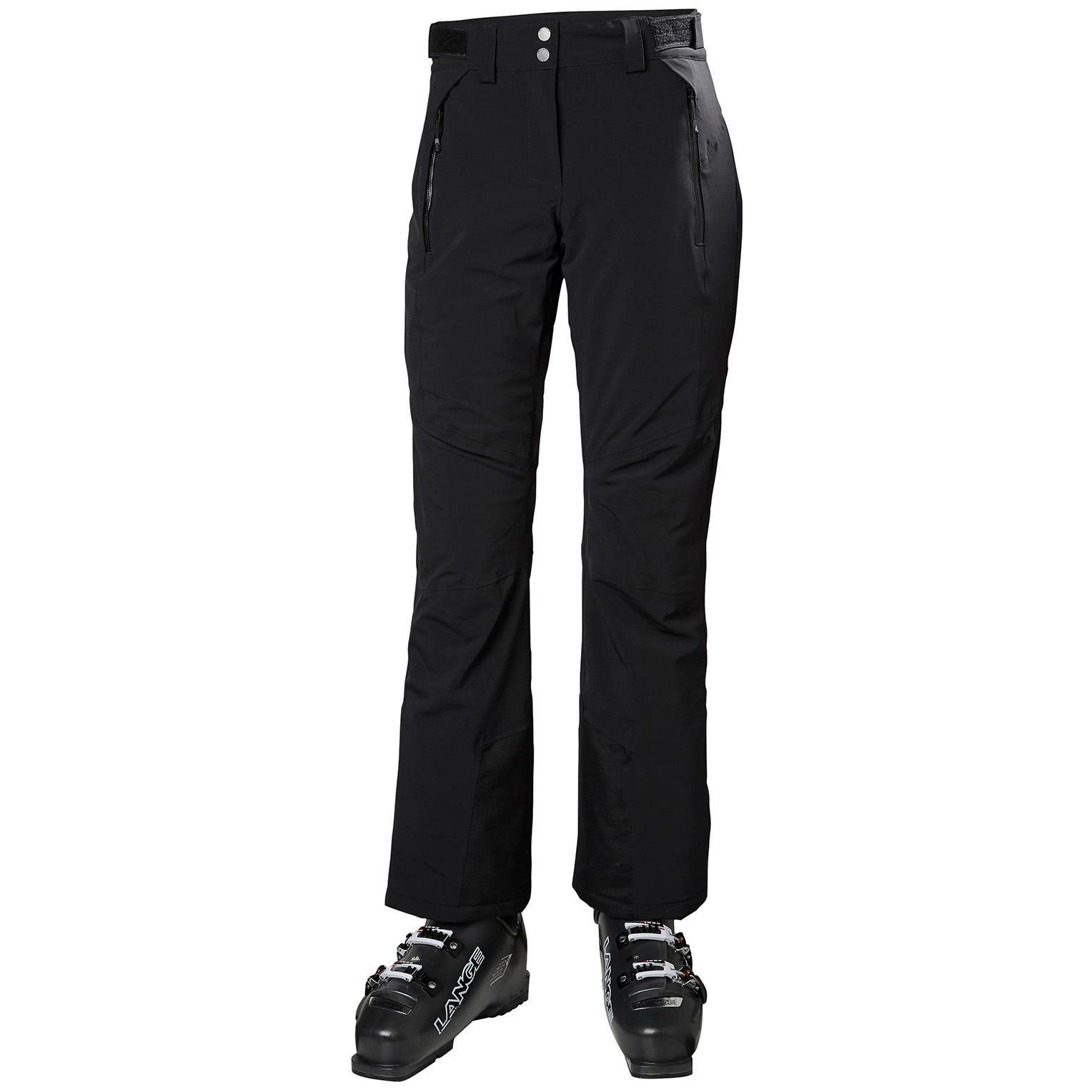 Helly Hansen Women's Alphelia Fully Insulated Ski Pants   XS Black