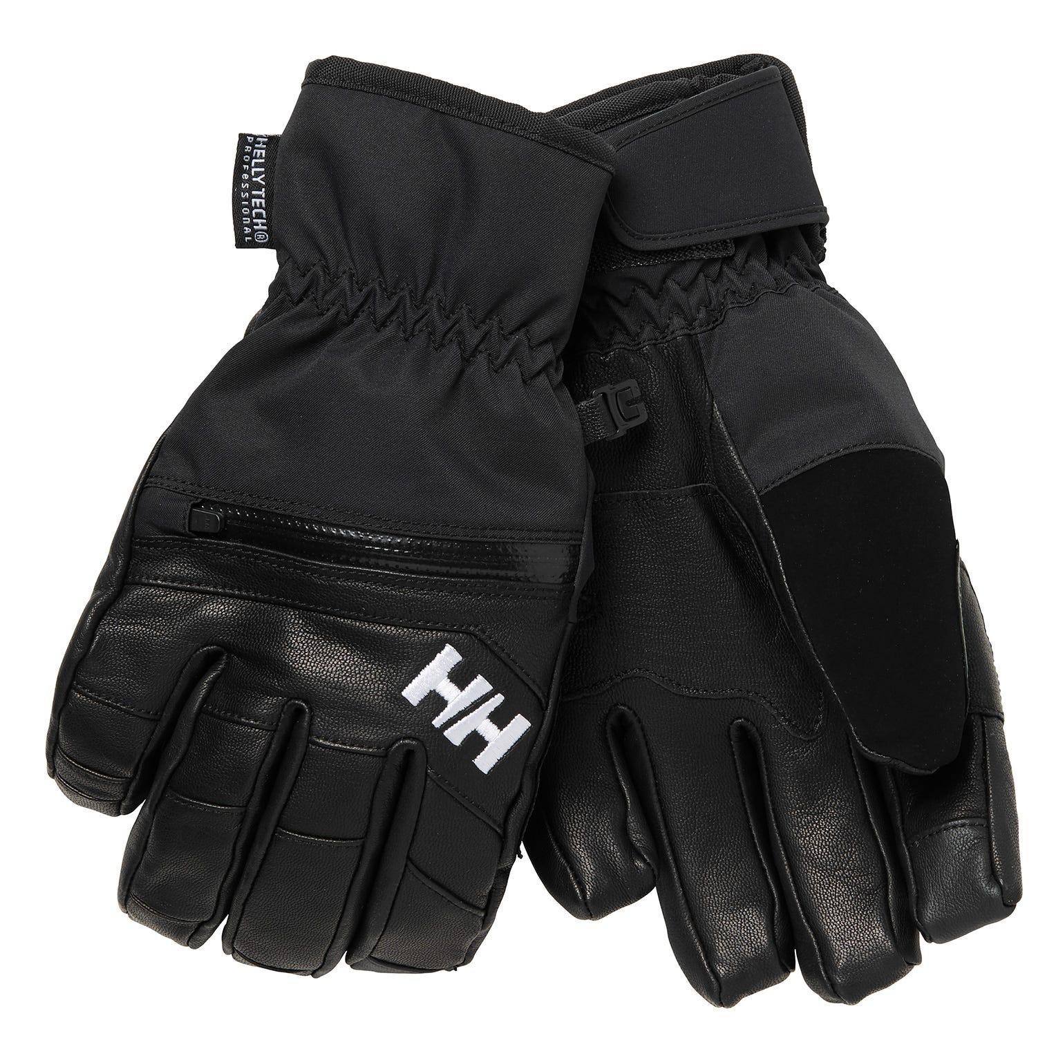 Helly Hansen Women's Alphelia Warm Ht Ski Gloves   XL Black