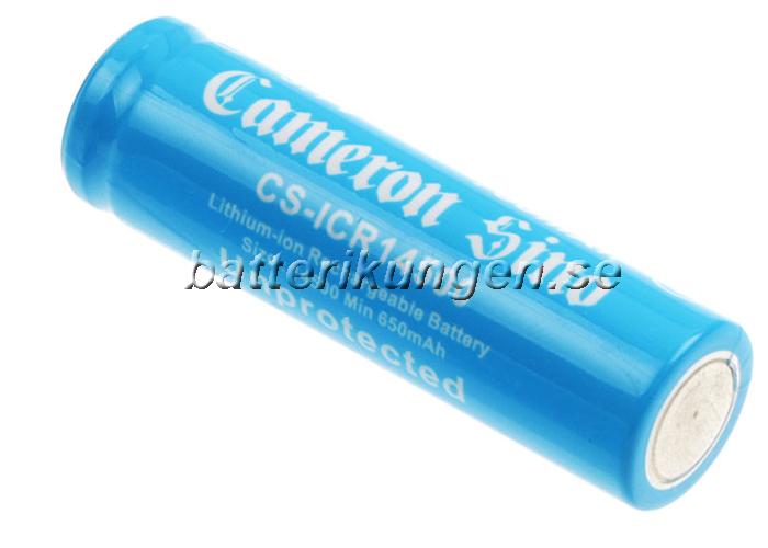 Laddningsbart 14500 - 700 mAh - 3.7 V Li-ion