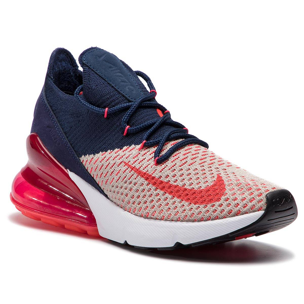 on sale f0760 a9fa1 NIKE Skor NIKE - Air Max 270 Flyknit AH6803 200 Moon Particle Red Orbit