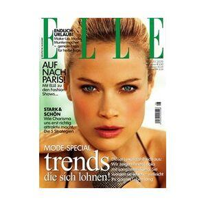 Tidningen Elle (German Edition) 12 nummer