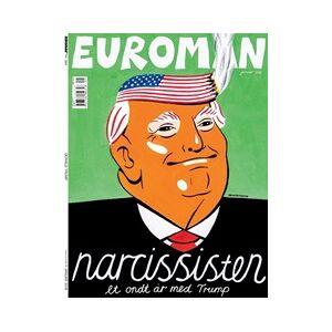 Tidningen Euroman 12 nummer