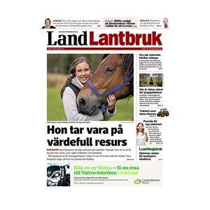 Tidningen Land Lantbruk 48 nummer