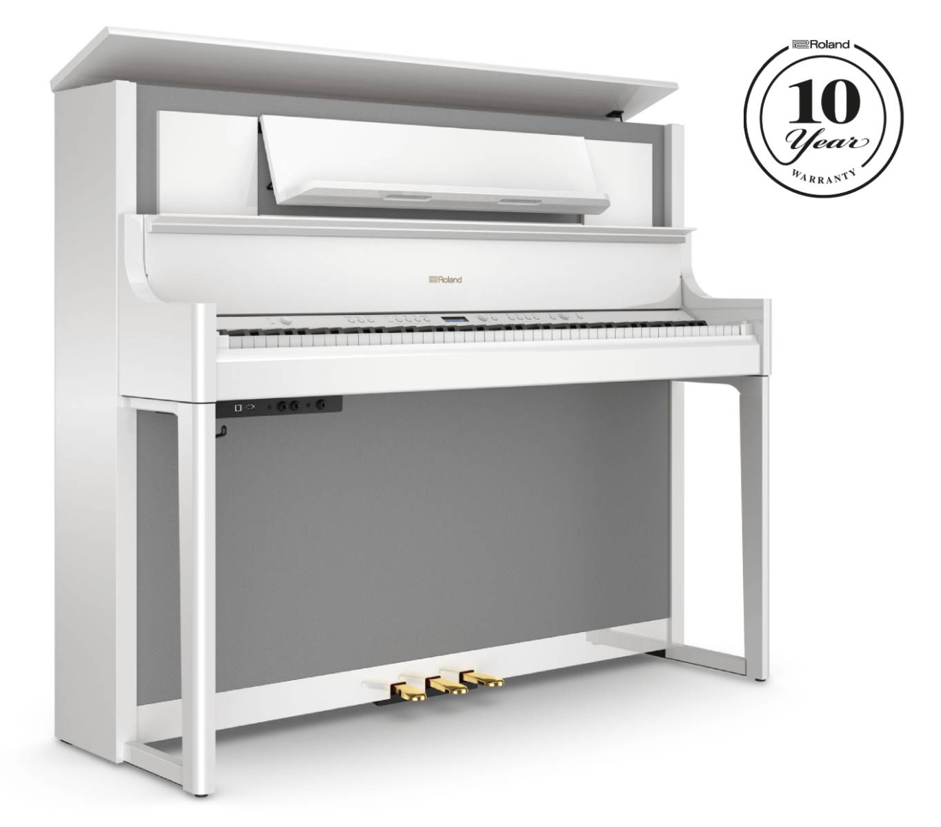 Roland Lx-708 Blank Vit Digitalpiano