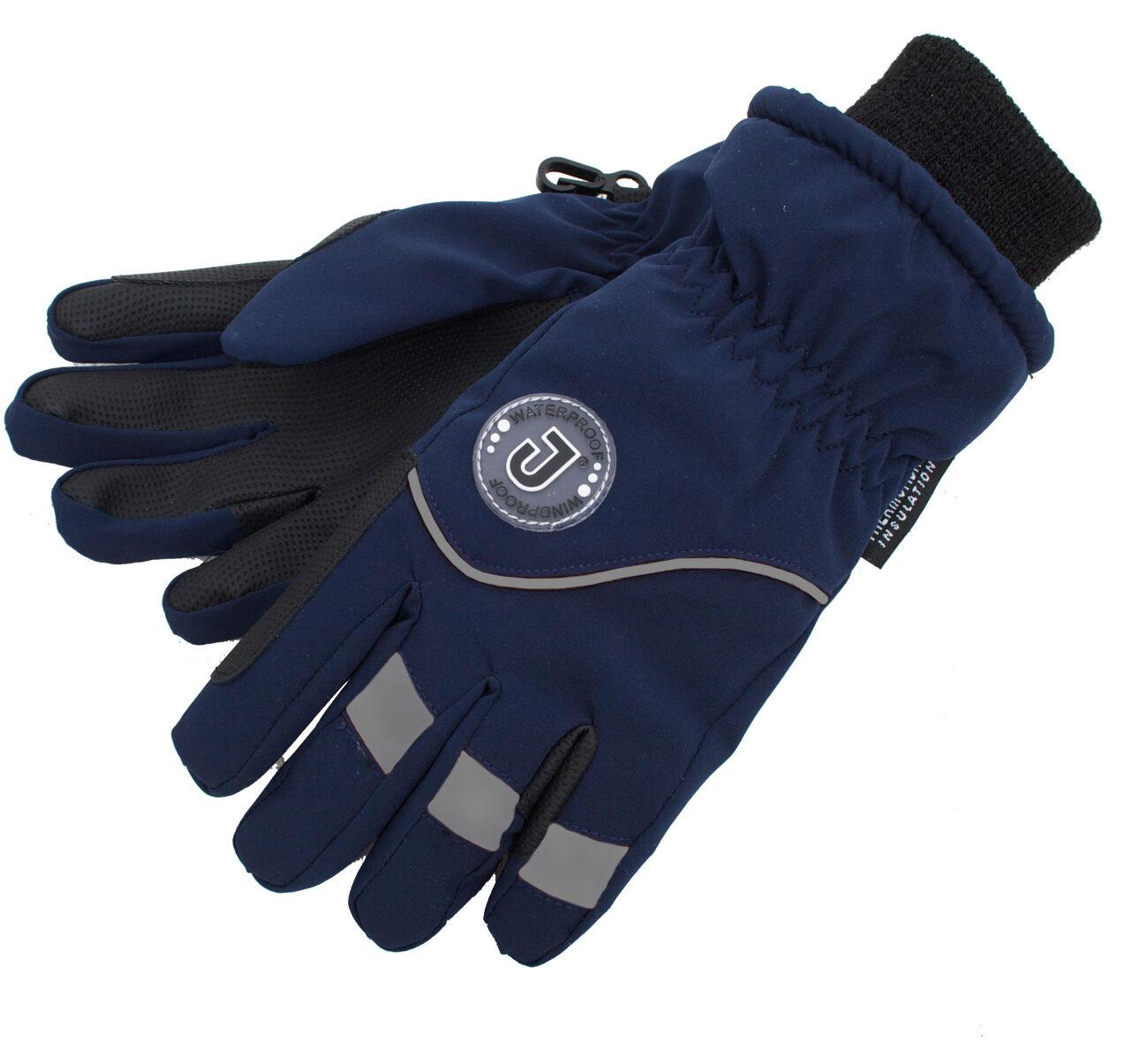 Jacson 5-Finger Handske Thermo Marin Xl