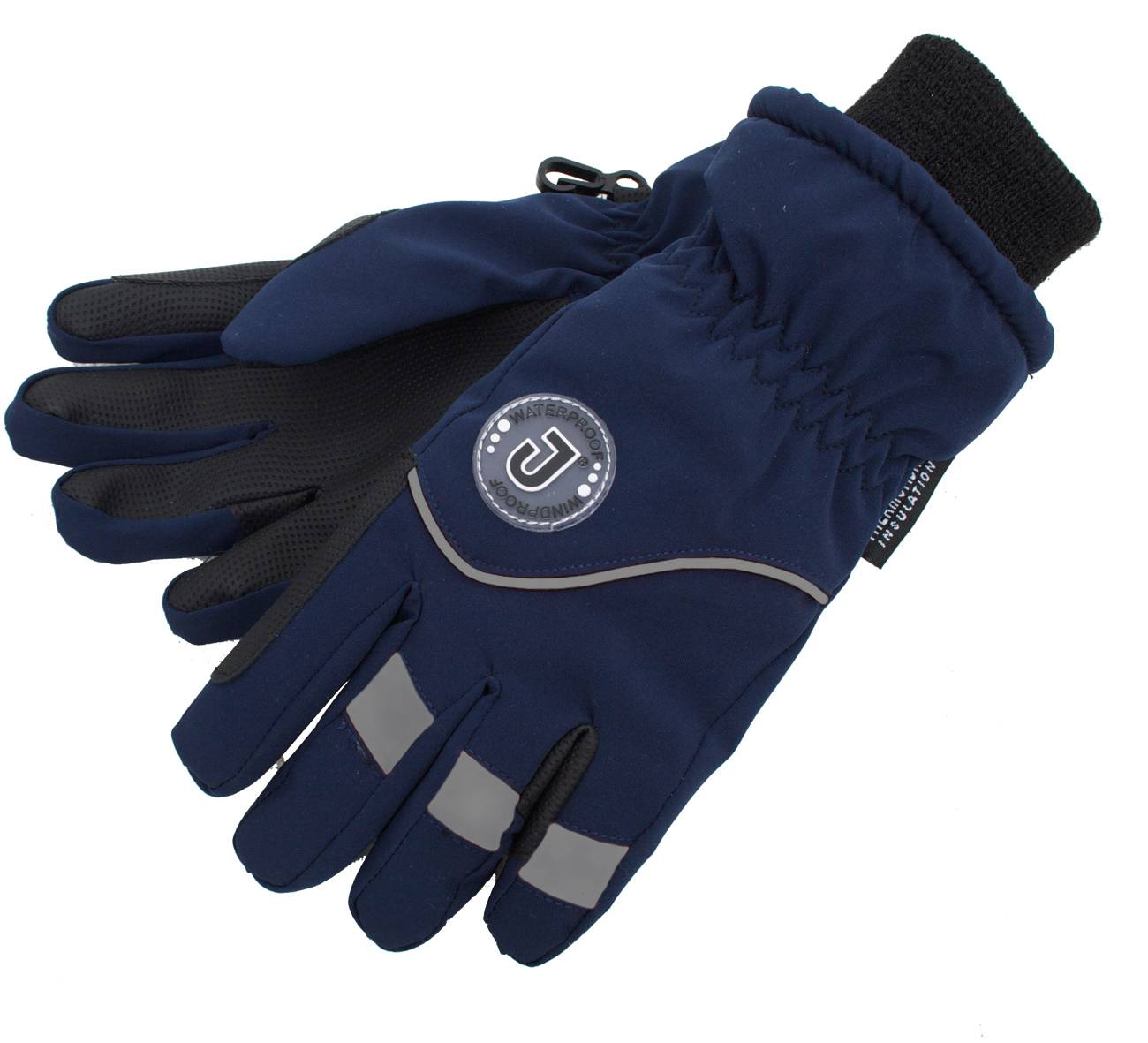 Jacson 5-Finger Handske Thermo Marin Xs