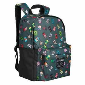 Minecraft 17'' Bobble Mobs Backpack