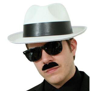 Gangsterhatt vit