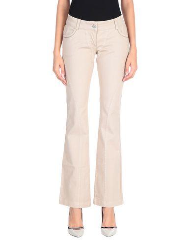 PINKO SUNDAY MORNING Denim trousers Women Beige 42