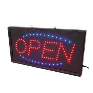 EuroLite OPEN skylt, LED