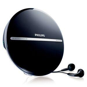 Philips MP3 CD-spelare Philips EXP2546/12 LCD (3.5 mm) Svart