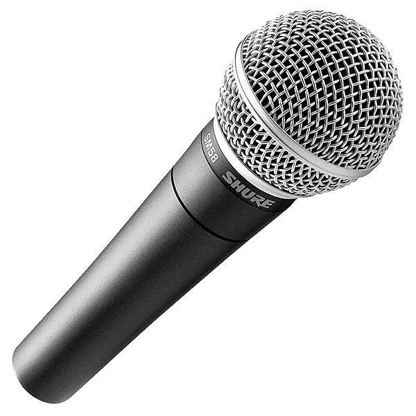 Shure SM58 LCE vocal microphone