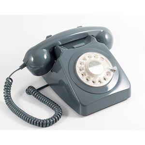 GPO Retro GPO 746 Retro Telefon med Snurrskiva - Grå