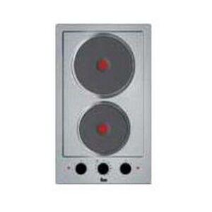 Teka Elektrisk värmeplatta Teka EFX30.1 2G 50 cm Rostfritt stål (2 Matlagningszon)
